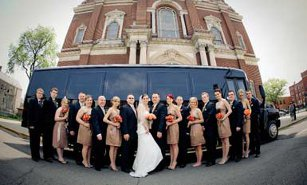 Austin Wedding Party Bus